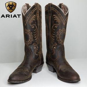 ARIAT Magnolia Sunflower Western Boots